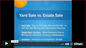 Yard Sales And Estate Sales